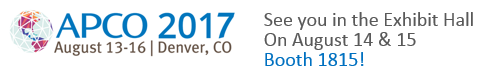 APCO 2017: August 13-16, Denver, CO | Booth 1815