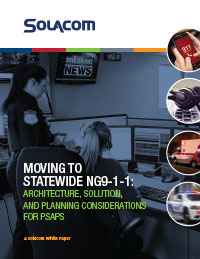Moving to Statewide NG9-1-1