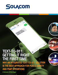 Text-To-911: Getting It Right the First Time