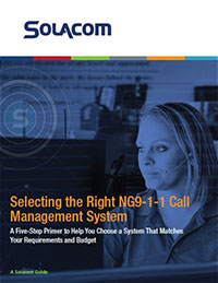 Selecting the Right NG9-1-1 Call Management System