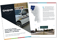 Lincoln County, Montana, Ready for NG9-1-1 With Solacom Guardian 9-1-1 Call Handling