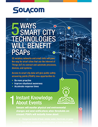 5 Ways Smart City Technologies Will Benefit PSAPs